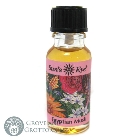 Sun's Eye Egyptian Musk Oil - Grove and Grotto
