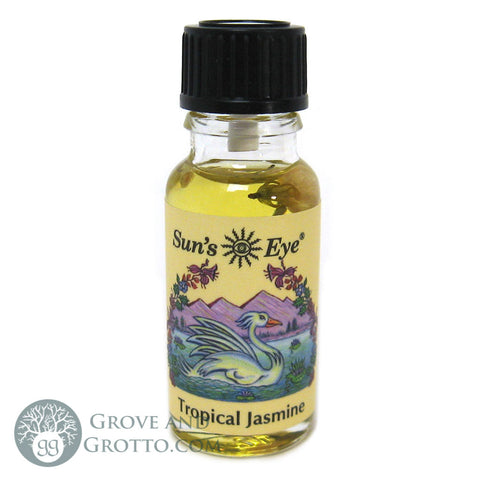 Sun's Eye Tropical Jasmine Oil - Grove and Grotto