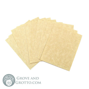 "Parchment Paper 2"" x 2.5"" (12 Pack) - Grove and Grotto"