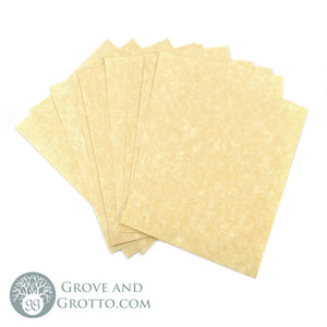 "Parchment Paper 3"" x 4"" (12 Pack) - Grove and Grotto"