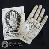 Palmistry Hand Resin Sculpture
