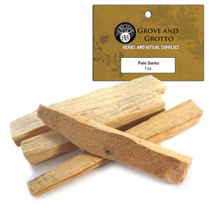 Palo Santo Sticks (1 oz) - Grove and Grotto