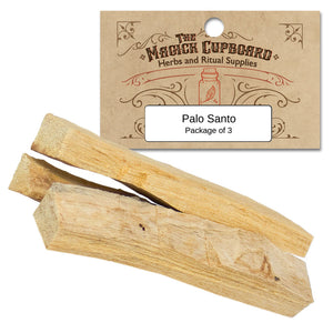Palo Santo Sticks (Package of 3)