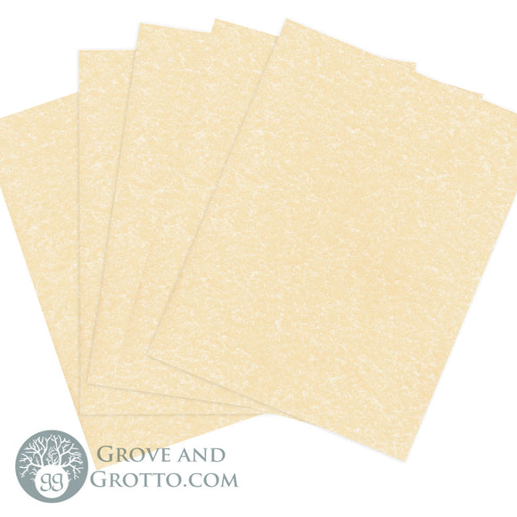 Lightweight Parchment Paper (10 Pack) - Grove and Grotto