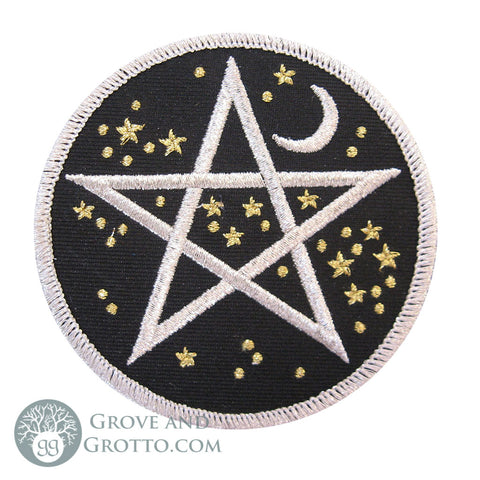 Starry Pentagram Patch 3""