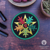 Oak Leaf Pentagram Patch