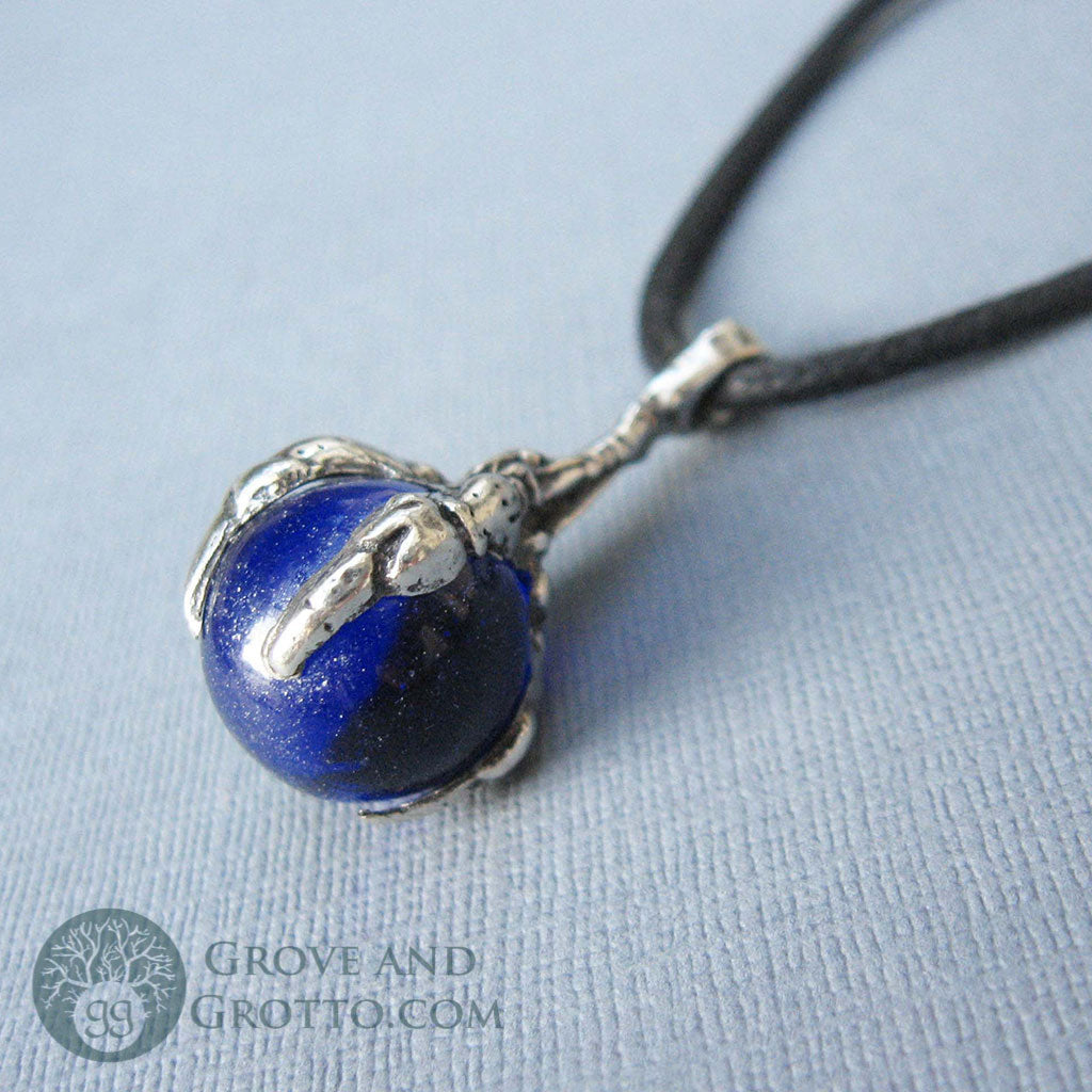 Dragon's Claw Orb (Cobalt Blue) - Grove and Grotto