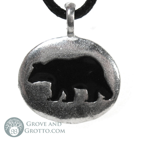 Bear Animal Spirit Pendant - Grove and Grotto