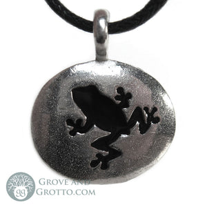 Frog Animal Spirit Pendant - Grove and Grotto