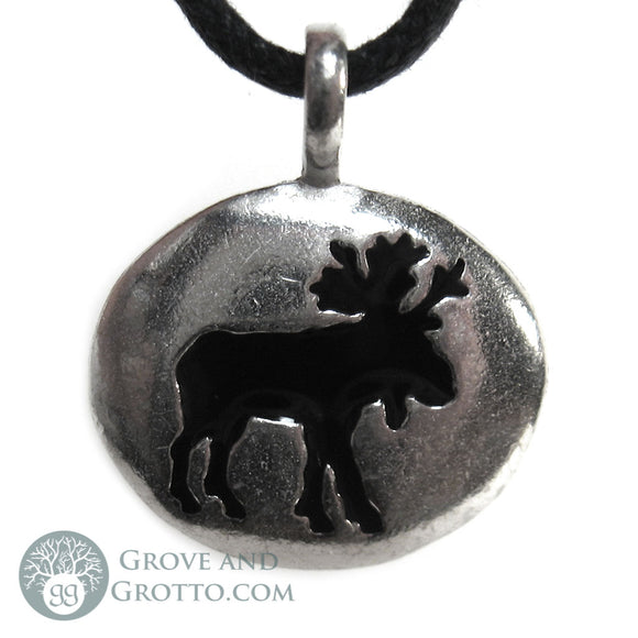Moose Animal Spirit Pendant - Grove and Grotto