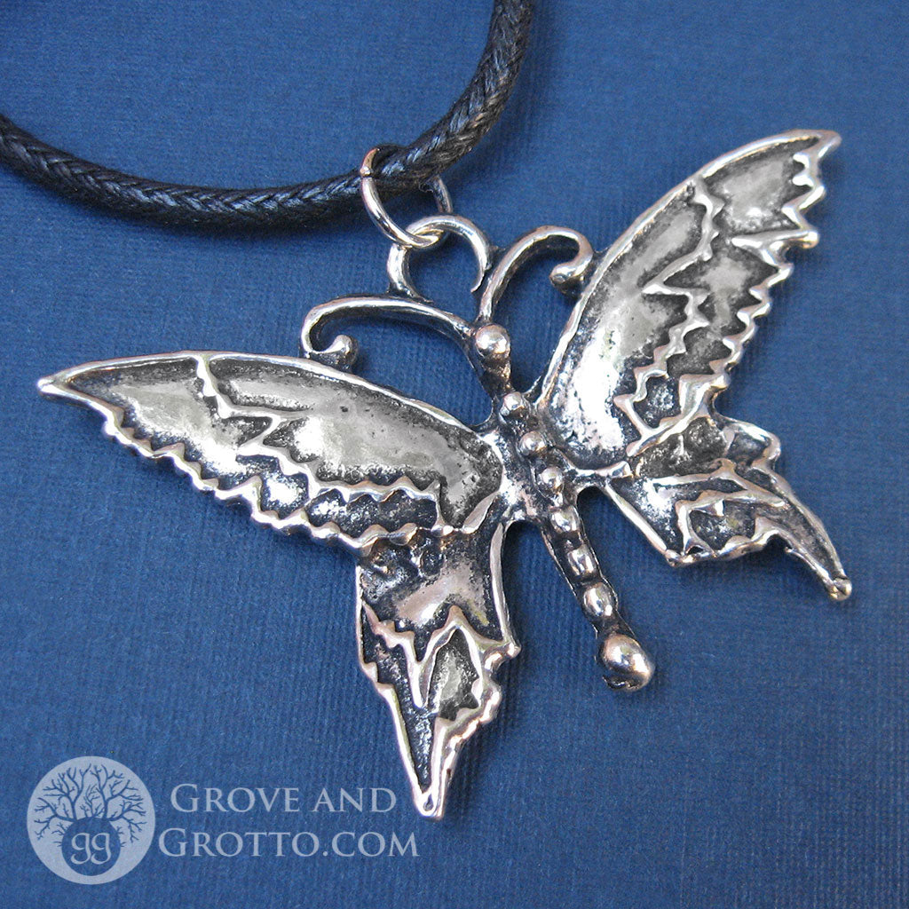 Butterfly Pendant (Large) - Grove and Grotto