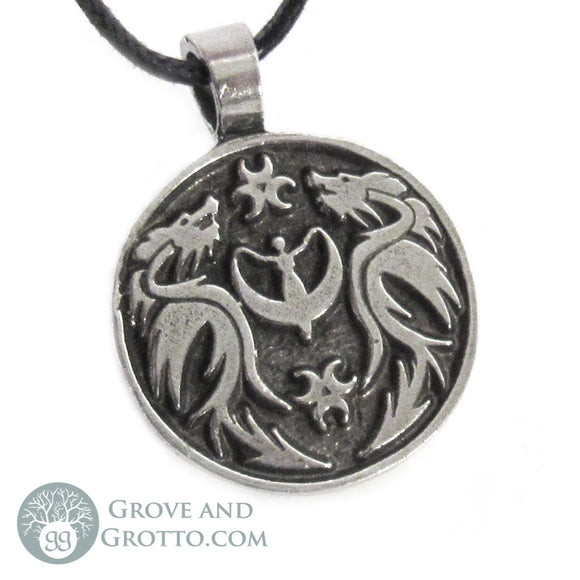 Dragon Peace Pendant - Grove and Grotto