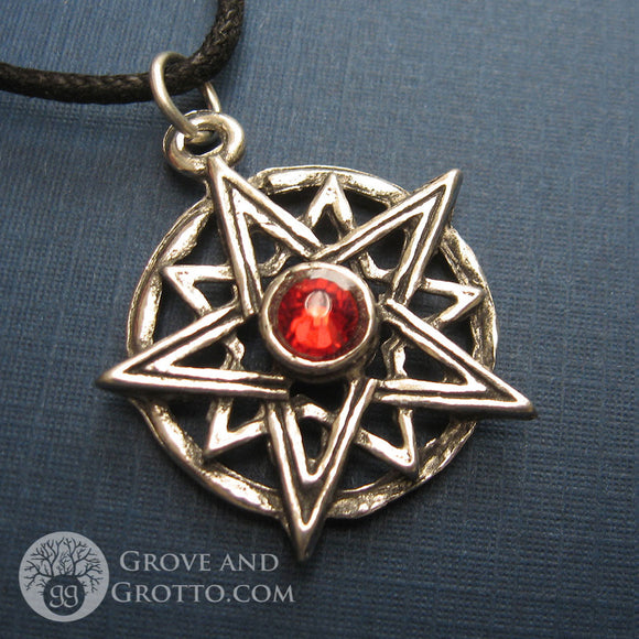 Endless Light Amulet (Red) - Grove and Grotto