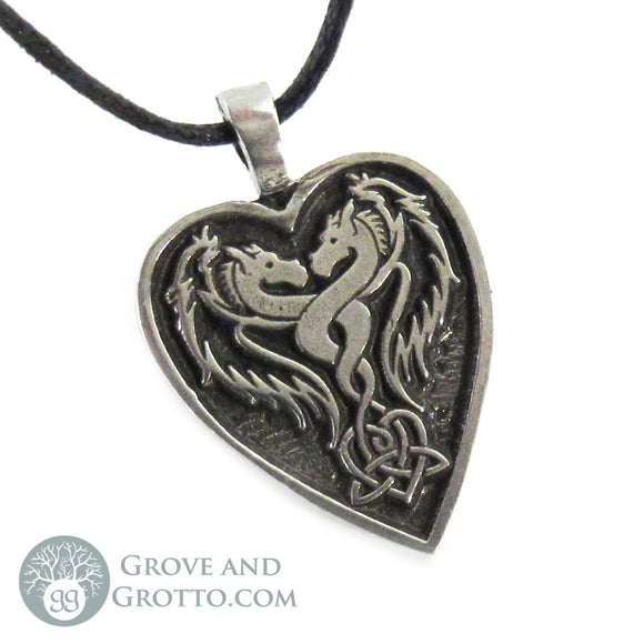Dragon Heart Pendant - Grove and Grotto