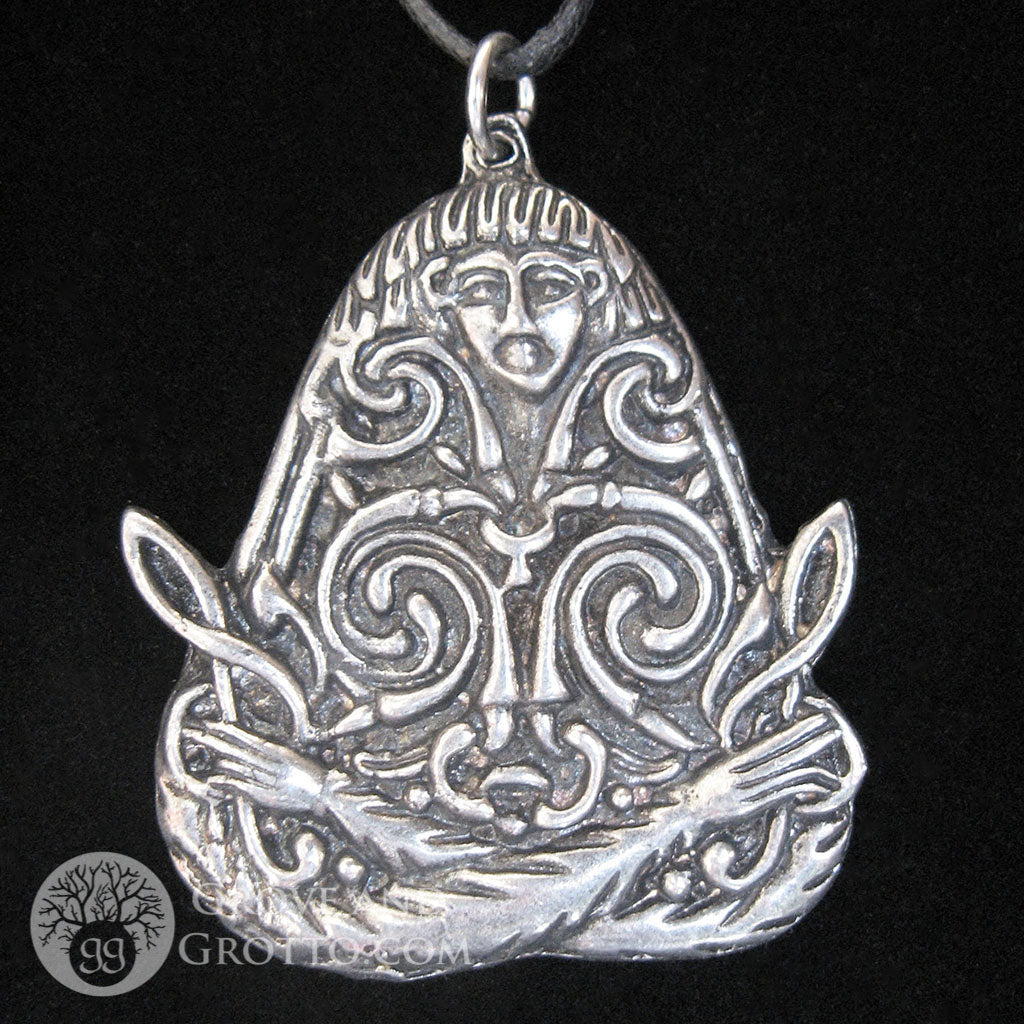 Macha Celtic Goddess Pendant - Grove and Grotto