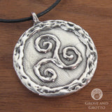 Talisman of the Sacred Three (Pewter) - Grove and Grotto