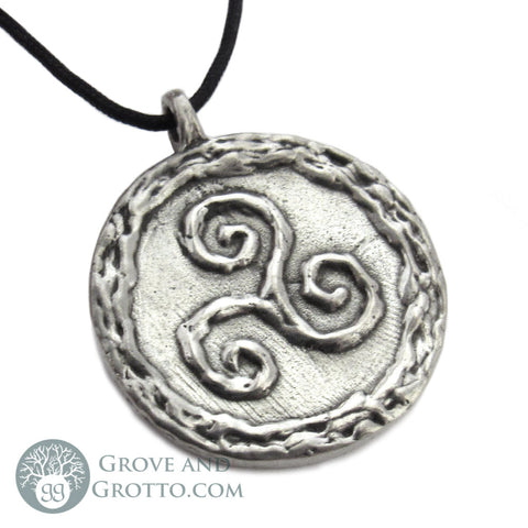 Talisman of the Sacred Three (Pewter)