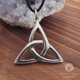 Triquetra Pewter Pendant - Grove and Grotto
