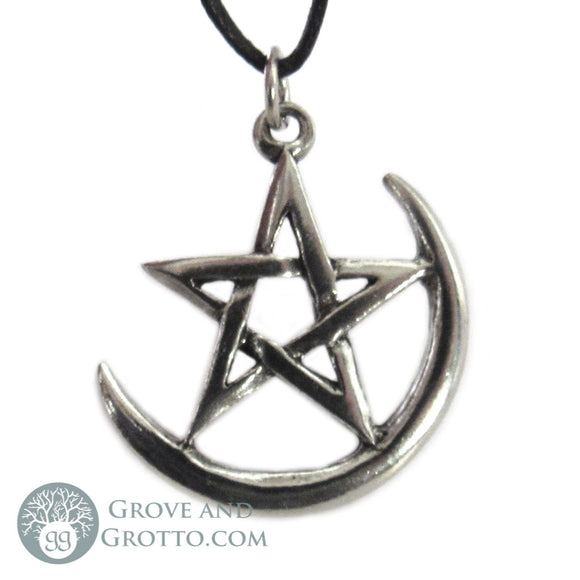 Evening Star Pentagram Pendant - Grove and Grotto