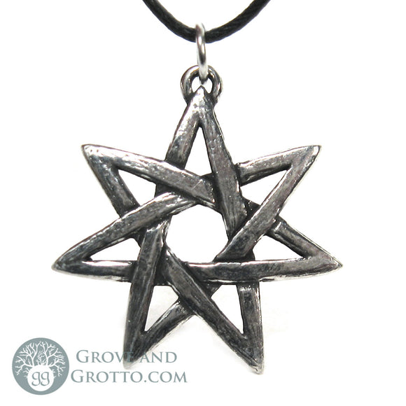 Faery Star Pendant (Pewter) - Grove and Grotto