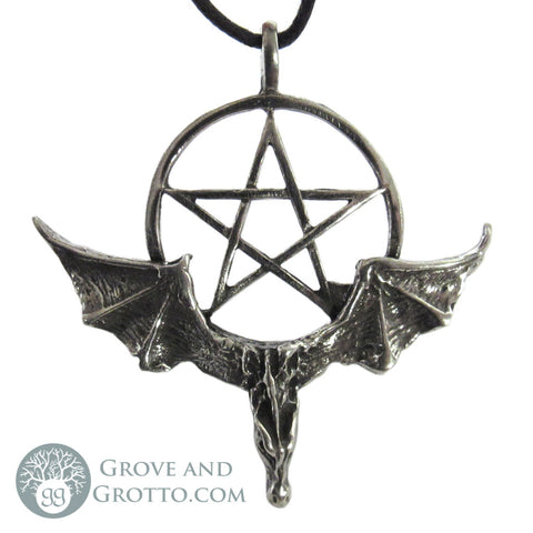Large Dragon Pentacle Pendant