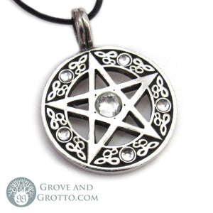 Pentacle of Light Pendant - Grove and Grotto