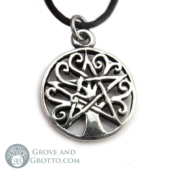 Tree Pentacle Pendant