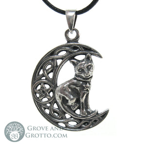 Pentagram of the Cat Pendant - Grove and Grotto