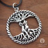 Lovers Tree Amulet (Pewter)