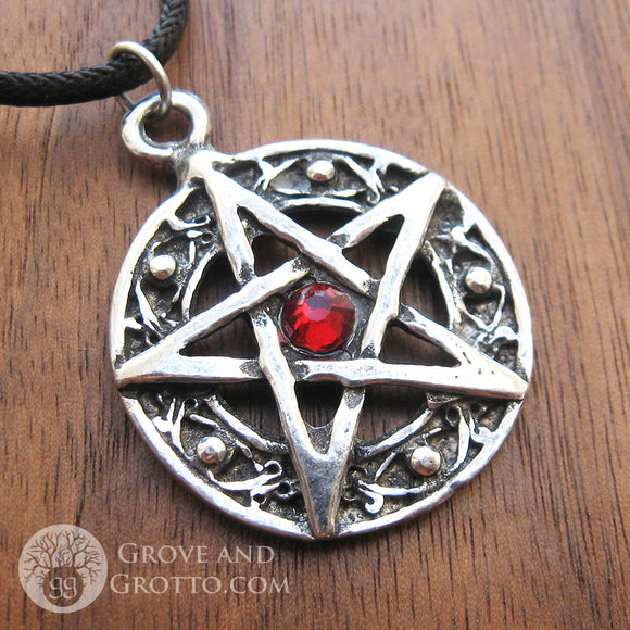 Protected Life Pentagram (Red)
