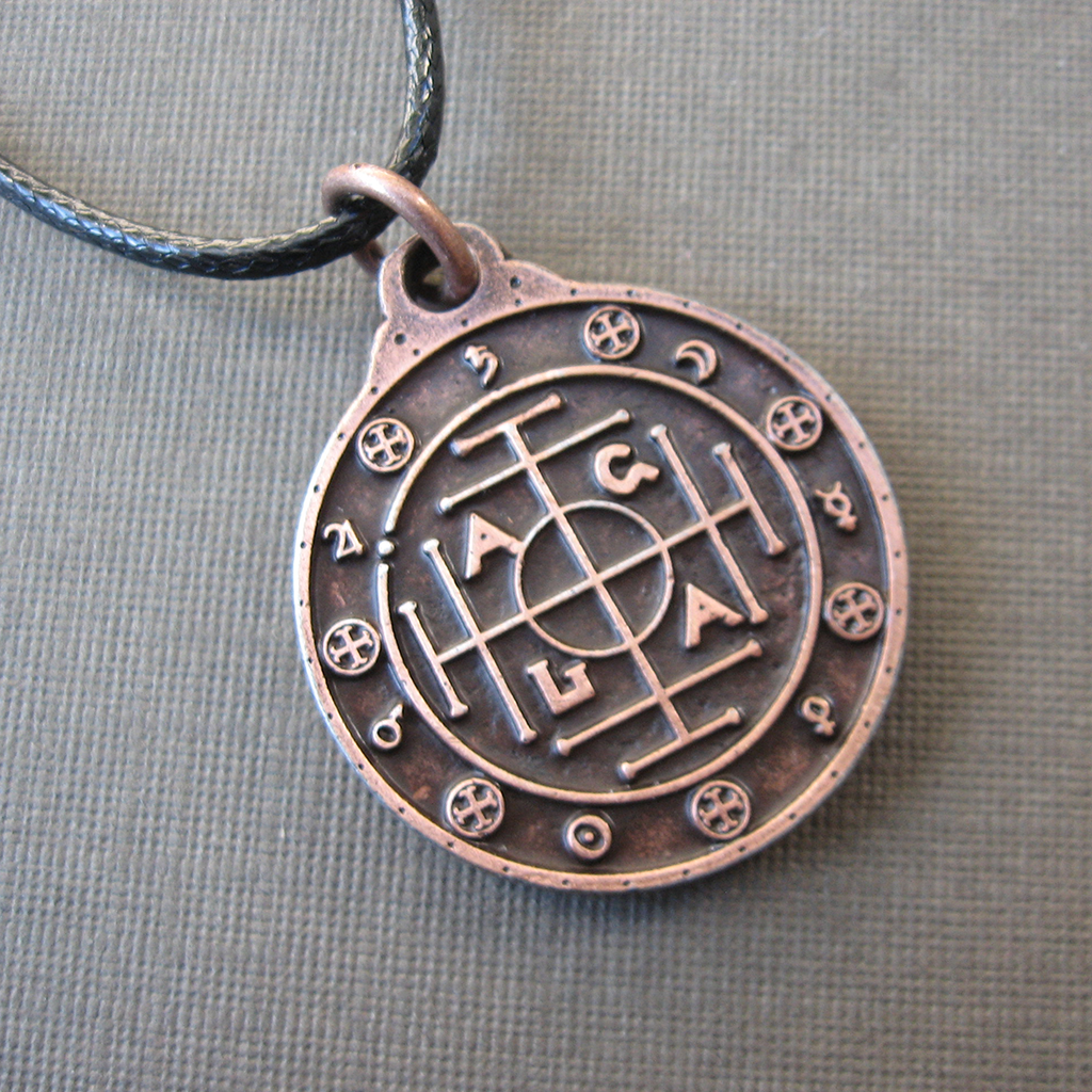 AGLA Talisman (Copper) - Grove and Grotto