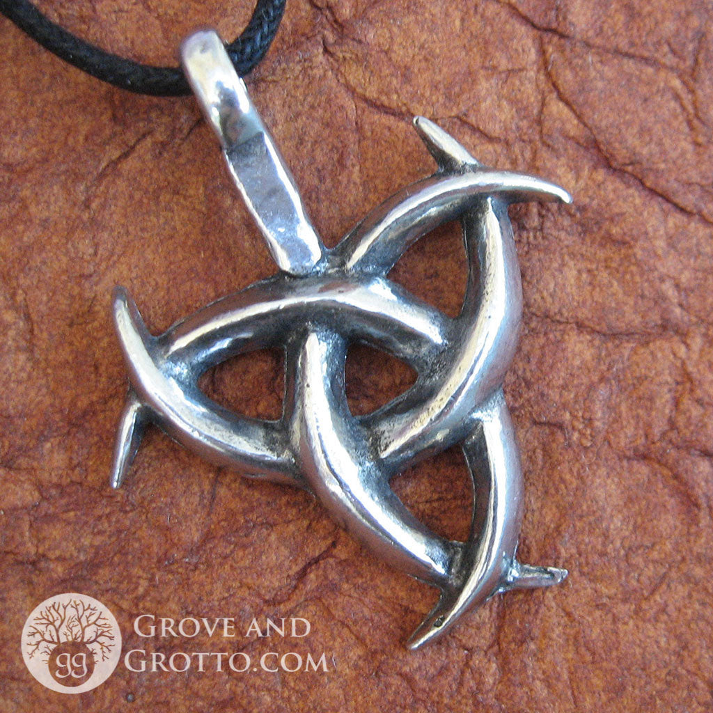 Triple horn of odin pendant grove and grotto triple horn of odin pendant aloadofball Gallery
