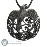 Celtic Raven Pendant - Grove and Grotto