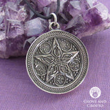 Two-Sided Celtic Pentacle Pendant - Grove and Grotto