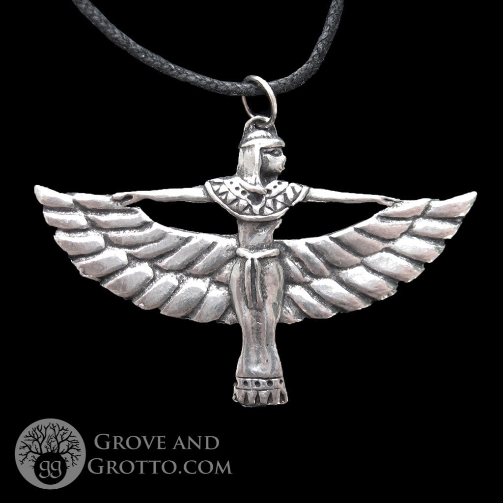 Winged Isis Amulet - Grove and Grotto