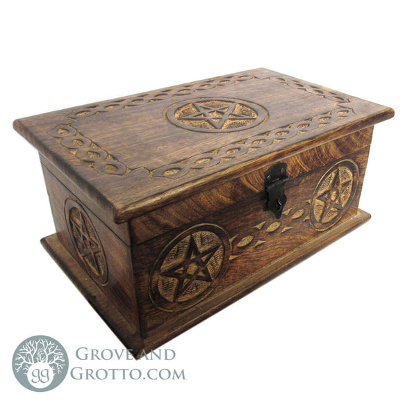 Pentagram Chest with Latch (Large)
