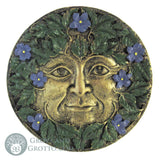 Green Man Seasonal Plaque (Spring) - Grove and Grotto