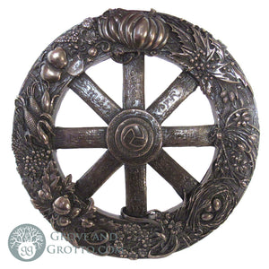 Wheel of the Year Plaque (Bronze Finish)
