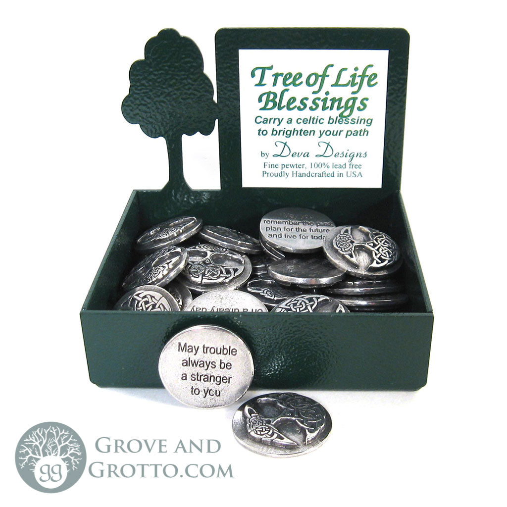 Tree of Life Blessings Pewter Charm - Grove and Grotto