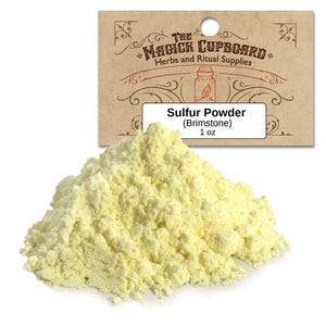 Sulfur Powder (1 oz) - Grove and Grotto