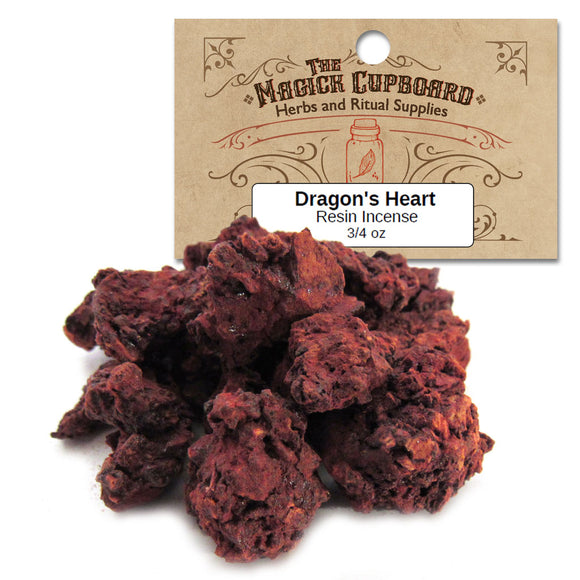Dragon's Heart Resin Incense (3/4 oz) - Grove and Grotto