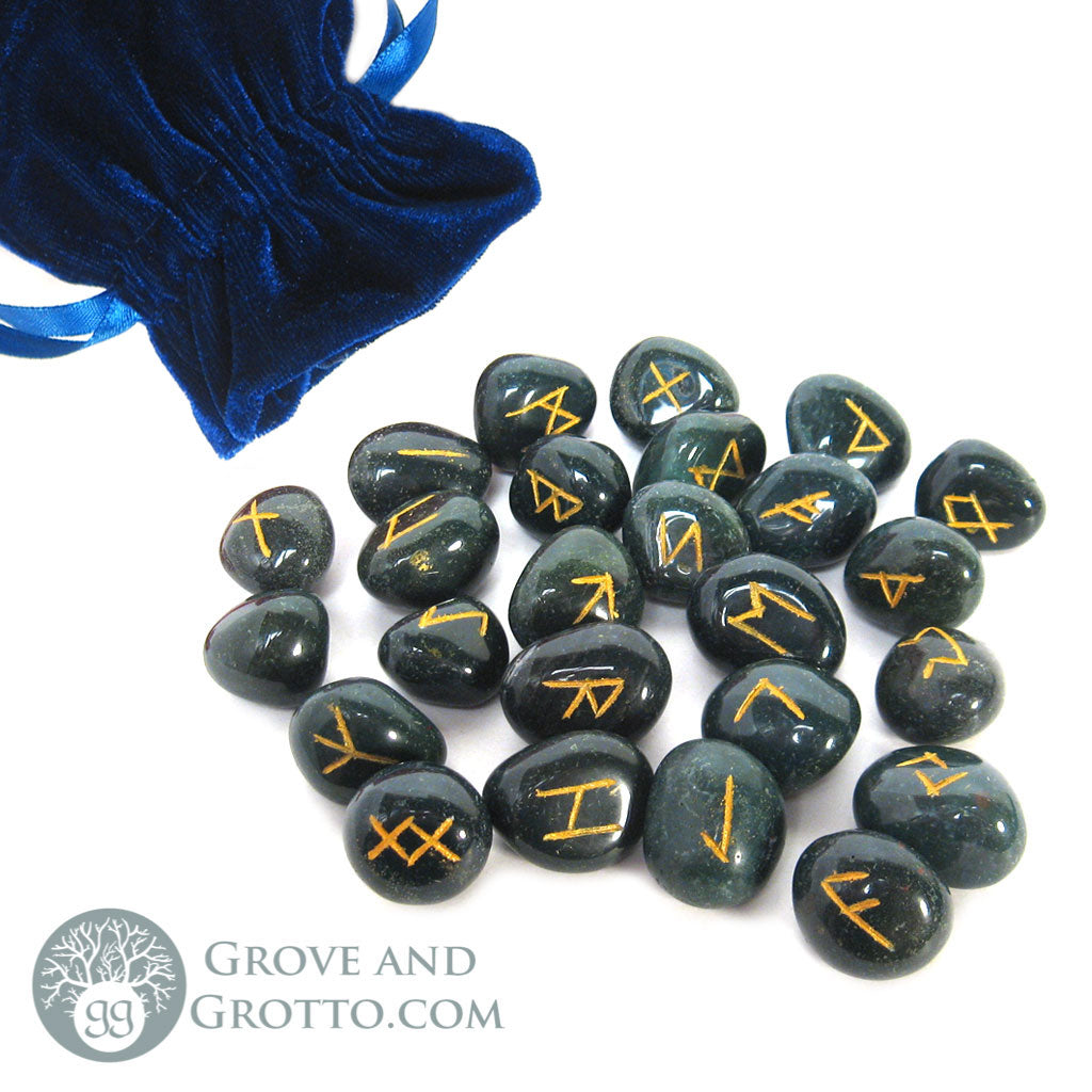 Bloodstone Rune Set - Grove and Grotto
