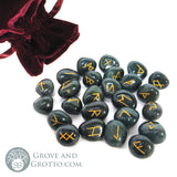 Bloodstone Rune Set (Small) - Grove and Grotto