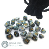 Emerald Rune Set - Grove and Grotto