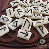 White Bone Rune Set - Grove and Grotto
