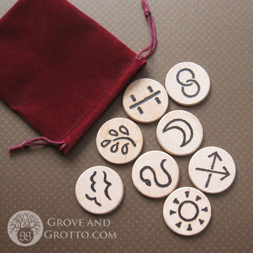 Witches' Runes (Set of 8)