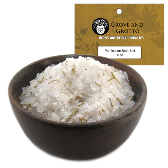 Purification Bath Salt (5 oz) - Grove and Grotto