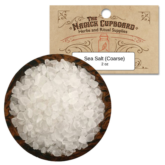 Coarse Sea Salt (2 oz)