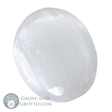 Selenite Oval (Large)