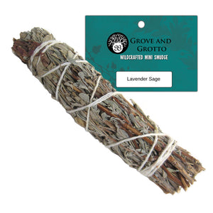 Lavender Sage Smudge - Grove and Grotto